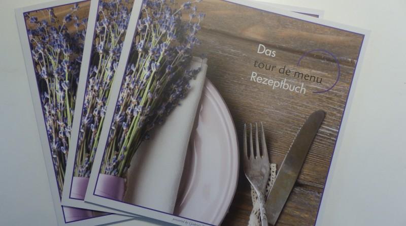 tour de menu-Rezeptbuch zu jeder Gutscheinbestellung ab 100,00 EUR!