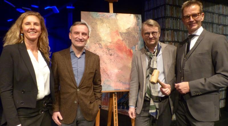 32 Kunstwerke fanden bei der Neujahrsversteigerung neue Besitzer